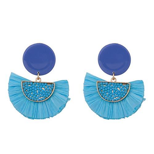 Diamond Accent Baby Shoe - Fashion Drop Dangle Girls Boho Earrings,Londony◈ Bohemian Retro Rose Gold Tassel Earrings Pink Fringe Gifts for Women.