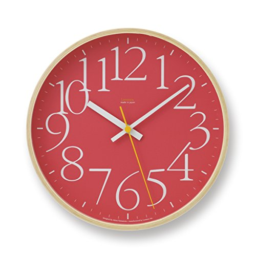 Lemnos AY clock Red LC09-17 RE