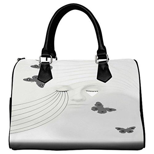 Jasonea Women Boston Handbag Top Handle Handbag Satchel A Beautiful Sorrow Basad174425