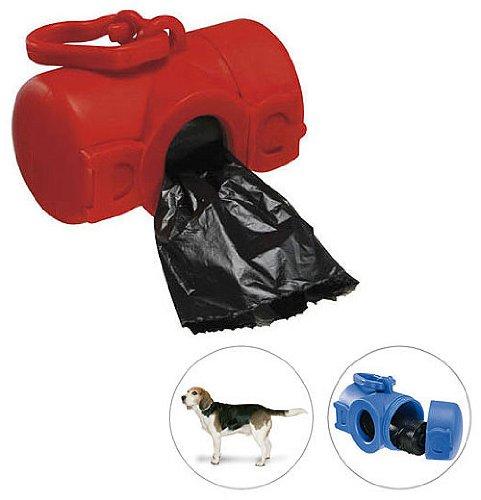 100 x Gassi Beutelbehälter Dog - Kotbeutel Behälter Box Spender Hundetüten