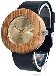 Relógio de Madeira Lian Black, MafiawooD