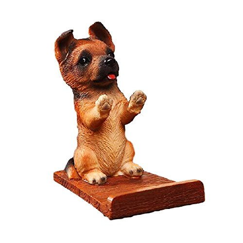 Puppy Dog Cell Phone Stands Smartphone Holder for Desk Wolf Dog Dog Cell Phone Holder