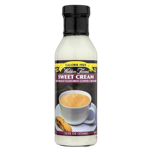 (Walden Farms Sugar-Free Sweet Cream Coffee Creamer, 12 Ounce (Pack of 6) )