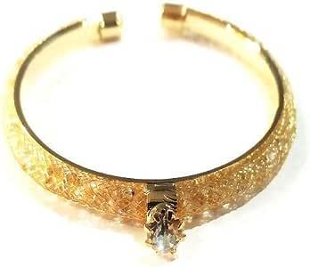 Women Bangle Wristband Bracelet Crystal