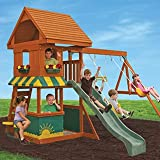 Big Backyard KidKraft Magnolia Cedar Wood Swing...