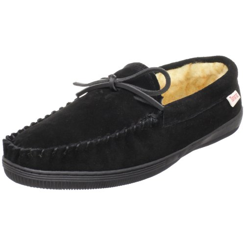 Tamarac by Slippers International Men's Camper, Black, 10 M US