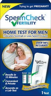 SpermCheck Fertility Home Sperm Test Kit | Indicates Normal or Low Sperm Count | Convenient, Accurate and Private | Easy To Read Results in 10 Minutes