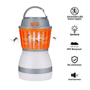 Zanzariera Elettrica,USB Anti-zanzara Trappola,Portatile Lampada Antizanzare,LED Trappola per Insetti,Lampada… 1 spesavip