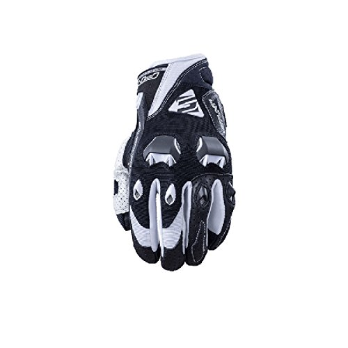 Five Stunt Evo Textile Adult Street Motorcycle Gloves - Black