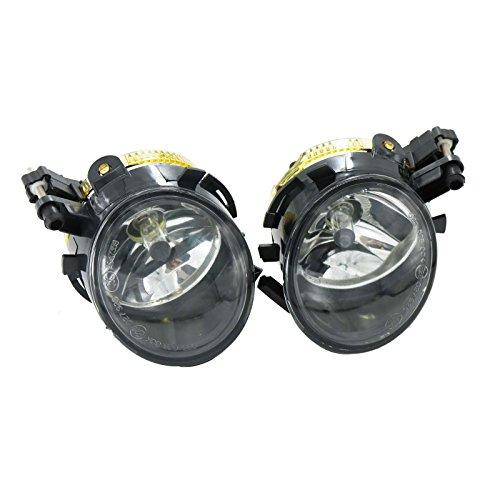 2Pcs Car Light For Seat Ibiza 2009 2010 2011 2012 Toledo 2005 2006 2007 2008 2009 Front Halogen Fog Light Fog Lamp ()