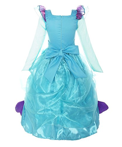 Loel Little Girls Princess Dress Up Mermaid Costume