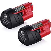 Powerextra 2 Pack 12V 2500mAh Lithium-ion Replacement...
