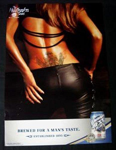 Milwaukees Best Light Engine Block Tatoo Poster