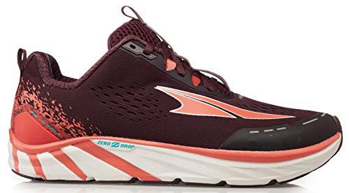 Altra Women's Torin 4 Road Running Shoe, Plum/Coral - 8 M US