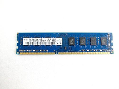 (HMT41GU6BFR8A-PB Hynix 8GB DDR3 Non ECC PC3-12800 1600Mhz 2Rx8 Memory)