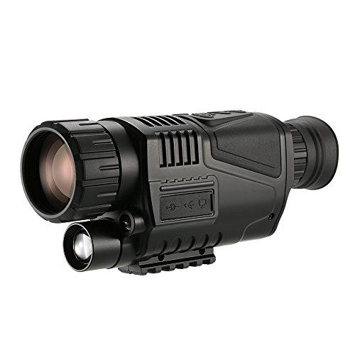 Lixada 5x40 Multi-functional Digital Night Vision Monocular