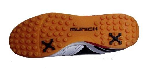 Munich Zapatilla de fútbol sala One Turf White 3071102  Amazon.es  Zapatos  y complementos 3b42bdaf8ca90