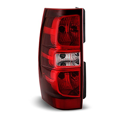 ACANII - For 2007-2014 Chevy Suburban 1500 2500 Tahoe Rear Replacement Tail Light - Driver Side Only Chevy Tahoe Drivers Side Tail