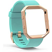 Fitbit Blaze Bands Small Large, Austrake Classic Replacement Silicone Strap for Fitbit Blaze Watch Accessory for...