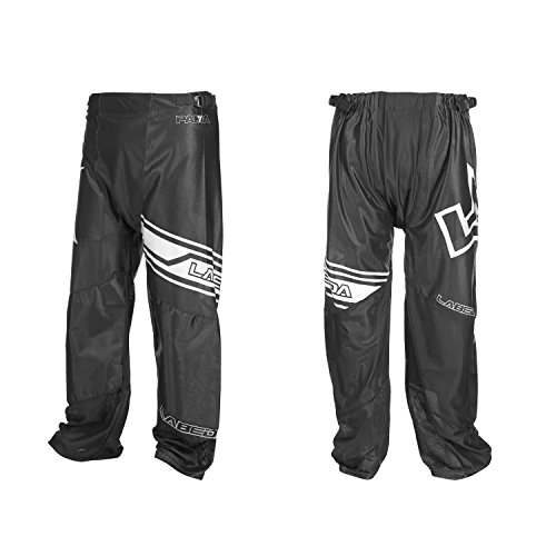 Hockey Pants Line In (LABEDA Roller Hockey Inline PANTS PAMA 7.3 BLACK/WHITE Size L)