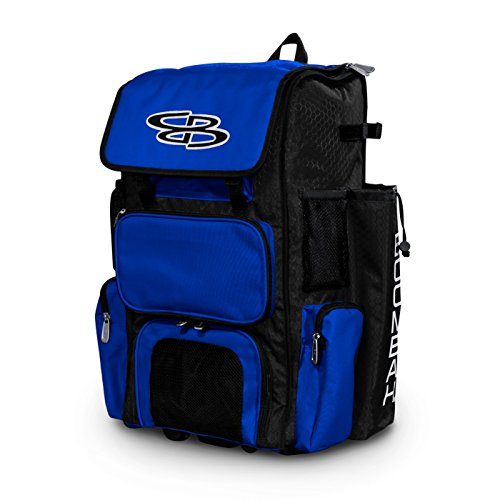 (Boombah Rolling Superpack Baseball / Softball Gear Bag - 23-1/2