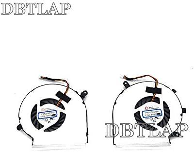DBTLAP Ventilador de la CPU + GPU del Ordenador portátil para MSI ...