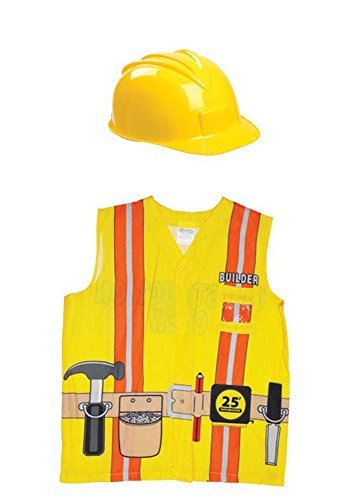 Aeromax My 1st Career Gear Builder Shirt and Construction Helmet (2 Piece Bundle) by Aeromax