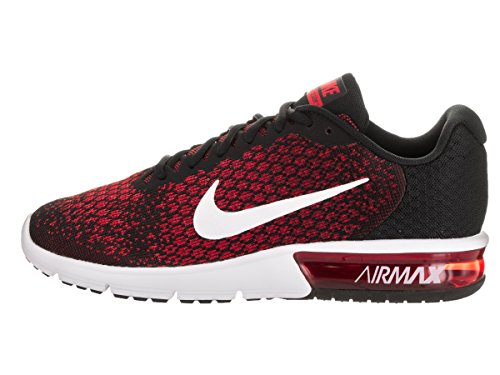 Nike Nike Air Max Sequent 2 - black/white-team red-universit