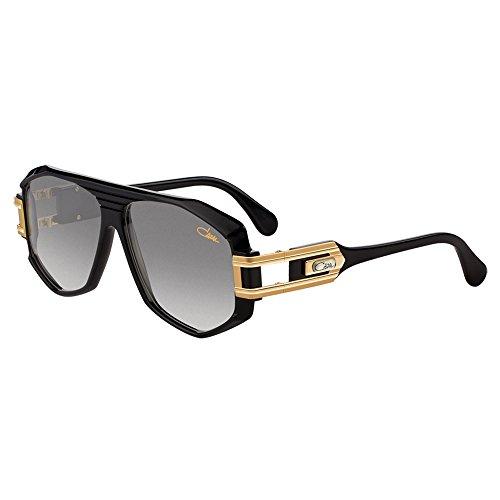 Cazal Sunglasses Legends 163/3 001 Black Gold 59 12 135 100% Authentic (Cazal 163)