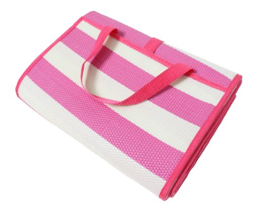 J M Home Fashions Beach And Picnic Mat With Strap