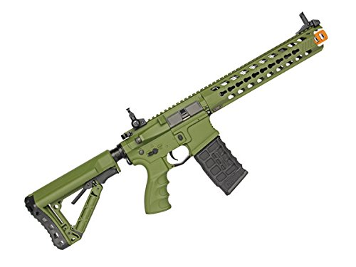 G&G CG16 Predator Full Metal Electric Airsoft Gun - Hunter Green