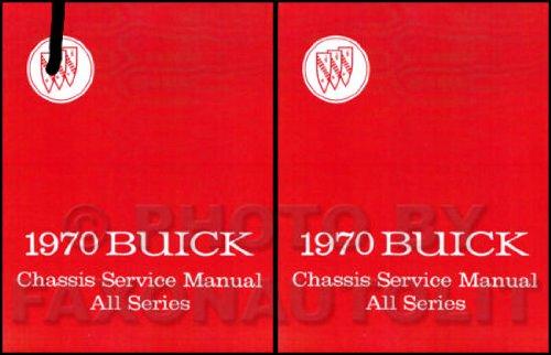 1970 Buick Repair Shop Manual Original - All (Buick Lesabre Wagon)
