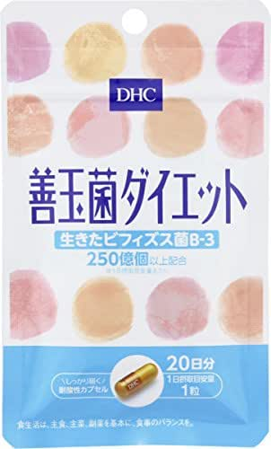 DHC Good Bacteria Diet 20 Days for 20 Tablets Supplement