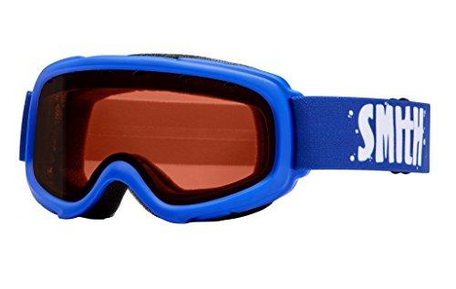 Smith Optics Gambler Youth Junior Series Ski Snowmobile Goggles Eyewear - Cobalt / RC36 / Small/Medium -