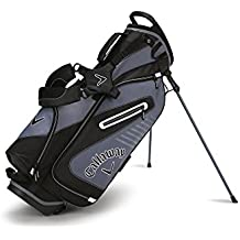 Callaway Golf 2017 Capital Stand Bag, Black/White