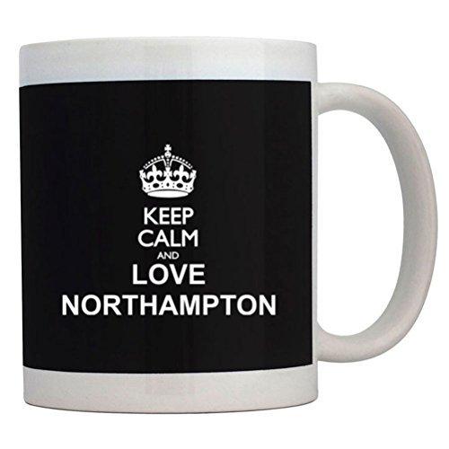 Fuuny Coffee Mugs Keep calm and love Northampton Mug