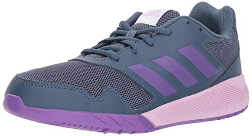 Price comparison product image adidas Originals Unisex-Kids Altarun Running Shoe, Tech Ink/Ray Purple/Clear Lilac, 1.5 M US Little Kid