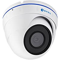 1080P Starlight POE IP Camera,Sea Wit Full HD ONVIF Dome Security Camera with Full Color Night Vision,30fps,D-WDR,Motion Detection,AWB Home/Office/Indoor Network Surveillance System