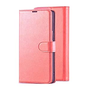 ClickCase Vintage Series, Faux Leather Wallet Flip Case Kick Stand Magnetic Closure Flip Cover for Samsung Galaxy S21…