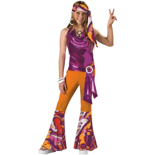 InCharacter Costumes Tween Kids Dancing Queen Costume, Orange/Purple, (Sports Costume Ideas For Boys)
