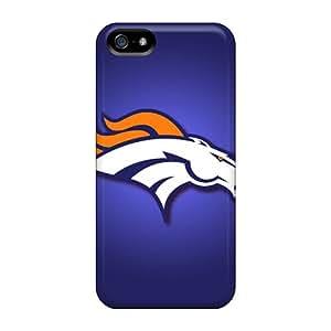 Premium JBu1305EVWd Case With Scratch-resistant/ Denver Broncos Case Cover For Iphone 5/5s