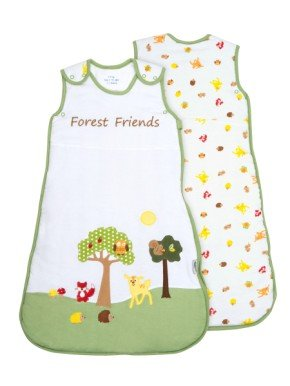 Slumbersac Baby Sleeping Bag 2.5 Tog - Forest Friends - 0-6 months/70cm