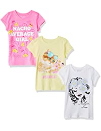 The Children's Place Big Girls' Graphic Tee (Pack of 3)