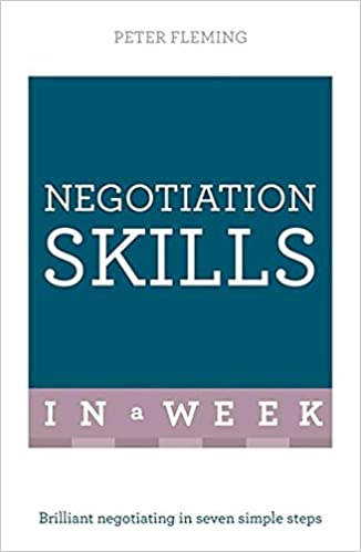 Book Successful Negotiating in a Week: Teach Yourself (TYW)