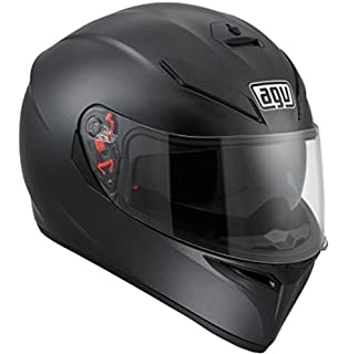 AGV HELMET K3 SV MATT BLK Size ML - DOT-Approved