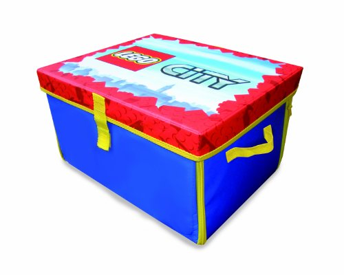 Neat Oh LEGO City ZipBin 1000 Brick Medium Toy Box & Playmat