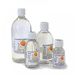 Zest It : 250ml Oil Paint Dilutant and Brush Cleaner by Zest-It