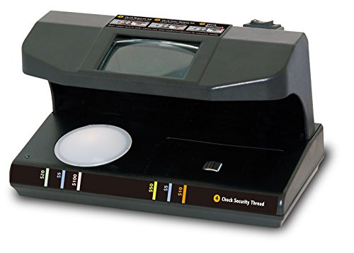 Royal Sovereign 4-Way Counterfeit Detector, Ultraviolet, Magnetic, Watermark, and Micro-Print Counterfeit Detection  (RCD-3PLUS)
