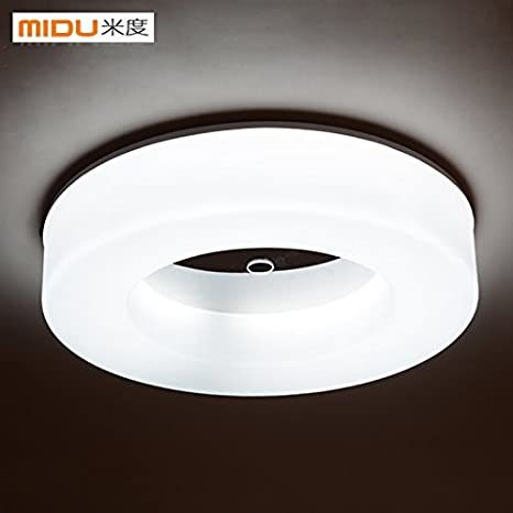 ssby Fácil, redondas lámpara LED, Moderno restaurante cocina y marcha Balcón Veranda Light Corridor Leuchten: Amazon.es: Iluminación