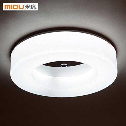 KHSKX Einfache, runde LED-Lampe, modernen Restaurant Küche und Balkon Veranda gang Light Corridor Leuchten , Durchmesser 35cm